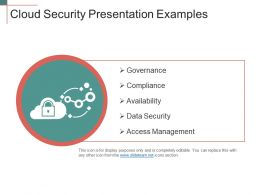 Cloud Security Presentation Examples