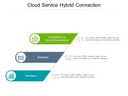 Cloud Service Hybrid Connection Ppt Powerpoint Presentation Infographic Template Slide Cpb