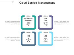 Cloud Service Management Ppt Powerpoint Presentation Summary Example Introduction Cpb