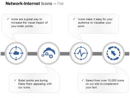 Cloud Service Process Control Technology Ppt Icons Graphics