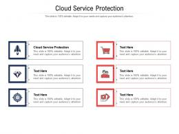 Cloud Service Protection Ppt Powerpoint Presentation Layouts Format Ideas Cpb