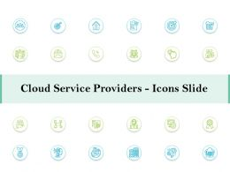 Cloud Service Providers Icons Slide Ppt Powerpoint Slides Background Image