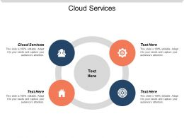 Cloud Services Ppt Powerpoint Presentation File Examples Cpb