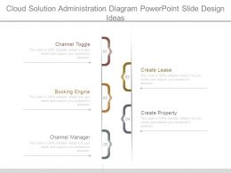 Cloud Solution Administration Diagram Powerpoint Slide Design Ideas