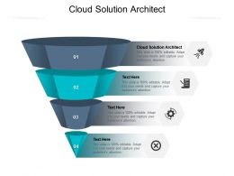 Cloud Solution Architect Ppt Powerpoint Presentation Icon Graphics Cpb