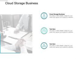 Cloud Storage Business Ppt Powerpoint Presentation Ideas Slides Cpb