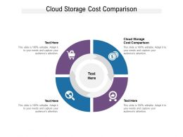 Cloud Storage Cost Comparison Ppt Powerpoint Presentation Pictures Graphic Tips Cpb