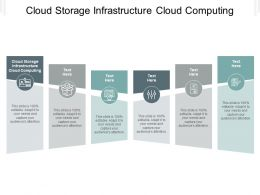 Cloud Storage Infrastructure Cloud Computing Ppt Powerpoint Presentation Pictures Files Cpb