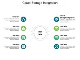 Cloud Storage Integration Ppt Powerpoint Presentation Infographic Cpb