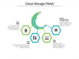 Cloud Storage PAAS Ppt Powerpoint Presentation Icon Objects Cpb