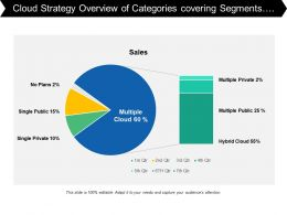 Cloud Strategy Overview Of Categories Covering Segments Of Multiple Public And Private