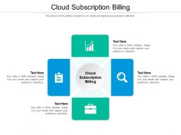 Cloud Subscription Billing Ppt Powerpoint Presentation Themes Cpb