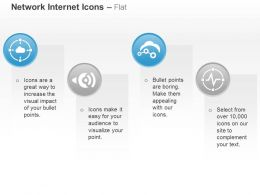 cloud_target_wifi_settings_ecg_signals_ppt_icons_graphics_Slide01