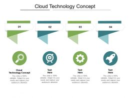 Cloud Technology Concept Ppt Powerpoint Presentation Pictures Demonstration Cpb