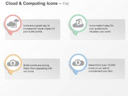 Cloud Technology Mobile Communication Data Transfer Ppt Icons Graphics