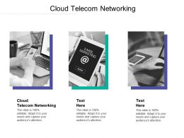 Cloud Telecom Networking Ppt Powerpoint Presentation Gallery Template