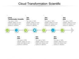 Cloud Transformation Scientific Ppt Powerpoint Presentation Slides Mockup Cpb