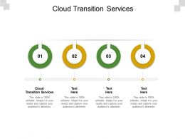 Cloud Transition Services Ppt Powerpoint Presentation Gallery Example Cpb