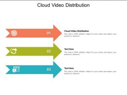 Cloud Video Distribution Ppt Powerpoint Presentation Styles Sample Cpb