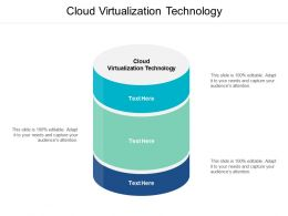 Cloud Virtualization Technology Ppt Powerpoint Presentation Icon Layout Ideas Cpb