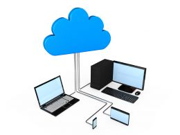 cloud_with_desktop_laptop_displaying_cloud_computing_stock_photo_Slide01