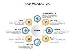 Cloud Workflow Tool Ppt Powerpoint Presentation Portfolio Cpb