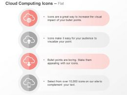 Clouds Data Upload Download Mobile Technology Ppt Icons Graphics