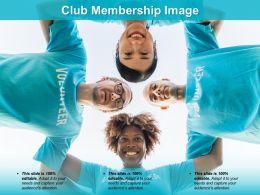 Club Membership Image