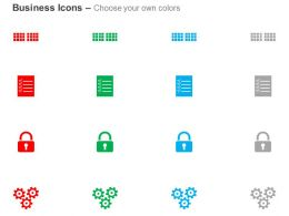 Cluster Checklist Security Process Engine Ppt Icons Graphics