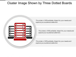 Cluster Image Shown By Three Dotted Boards