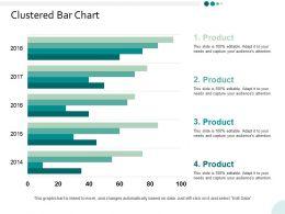 Clustered Bar Chart Finance Ppt Powerpoint Presentation Infographic Template Smartart