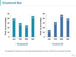 Clustered Bar Ppt Examples Professional