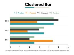 Clustered Bar Ppt Gallery Format Ideas