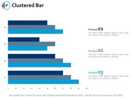 Clustered Bar Ppt Portfolio Guidelines