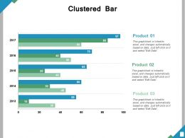 Clustered Bar Ppt Powerpoint Presentation File Diagrams