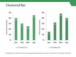 Clustered Bar Ppt Styles Shapes