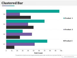 Clustered Bar Ppt Styles Slides