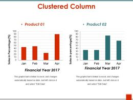 Clustered Column Example Of Ppt