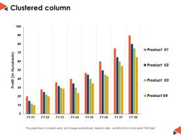 Clustered Column Finance Ppt Powerpoint Presentation Diagram Images