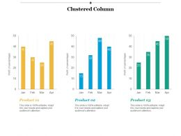 Clustered Column Investment Ppt Infographic Template Background Images