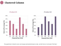 Clustered Column Investment Ppt Infographics Example Introduction