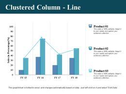 Clustered Column Line Ppt Professional Information