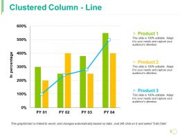 Clustered Column Line Ppt Professional Rules