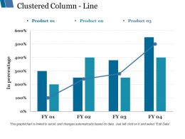 Clustered Column Line Ppt Styles Graphics Tutorials