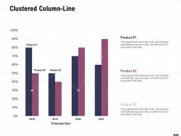 Clustered Column Line Rebranding And Relaunching Ppt Diagrams