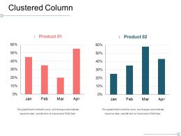 Clustered Column Powerpoint Ideas