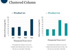 Clustered Column Powerpoint Slide Images