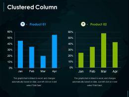 Clustered Column Presentation Outline