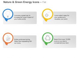 Cm Four Symbols For Green Energy Generation Ppt Icons Graphics