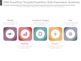 Cmm Powerpoint Template Powerpoint Slide Presentation Guidelines